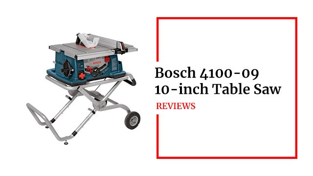 Bosch 4100-09 Table Saw Review