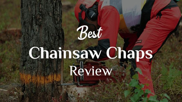 Best Chainsaw Chaps Review