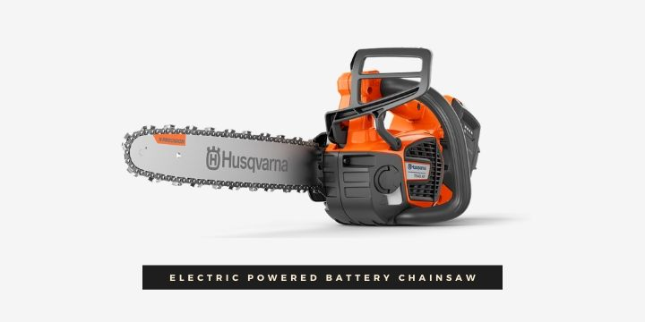 Electric Powered Battery Chainsaw